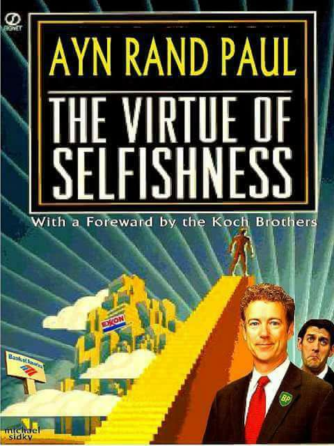 Trump's Libertarian Selfishness, Riches, Fake Honor Plus Status