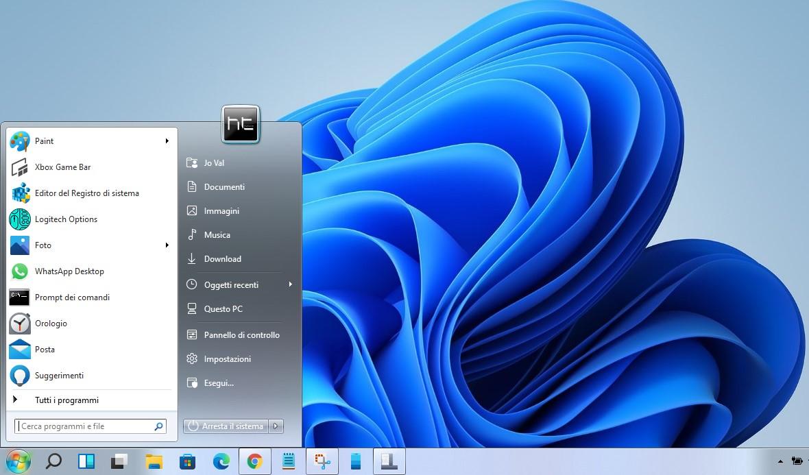 Come ripristinare e personalizzare il menu Start classico in Windows 11