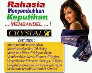 crystal x asli, crystal x original, NASA, keputihan, wanita, produk kesehatan organ kewanitaan, beli crystal x di pekanbaru
