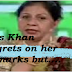 Mrs. Khan regrets her remarks that 'divorce' is woman's mistake...-fusionstories