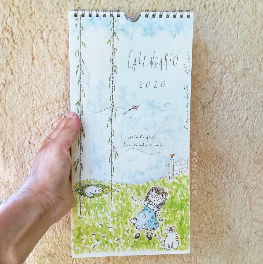 Calendario Fiere Creative 2020.Calendario 2020 Gatti E Bimbe Arti Noa Arti Noa