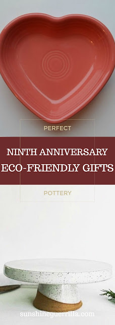 Unique and Eco-Friendly Pottery Gifts for your Ninth Anniversary