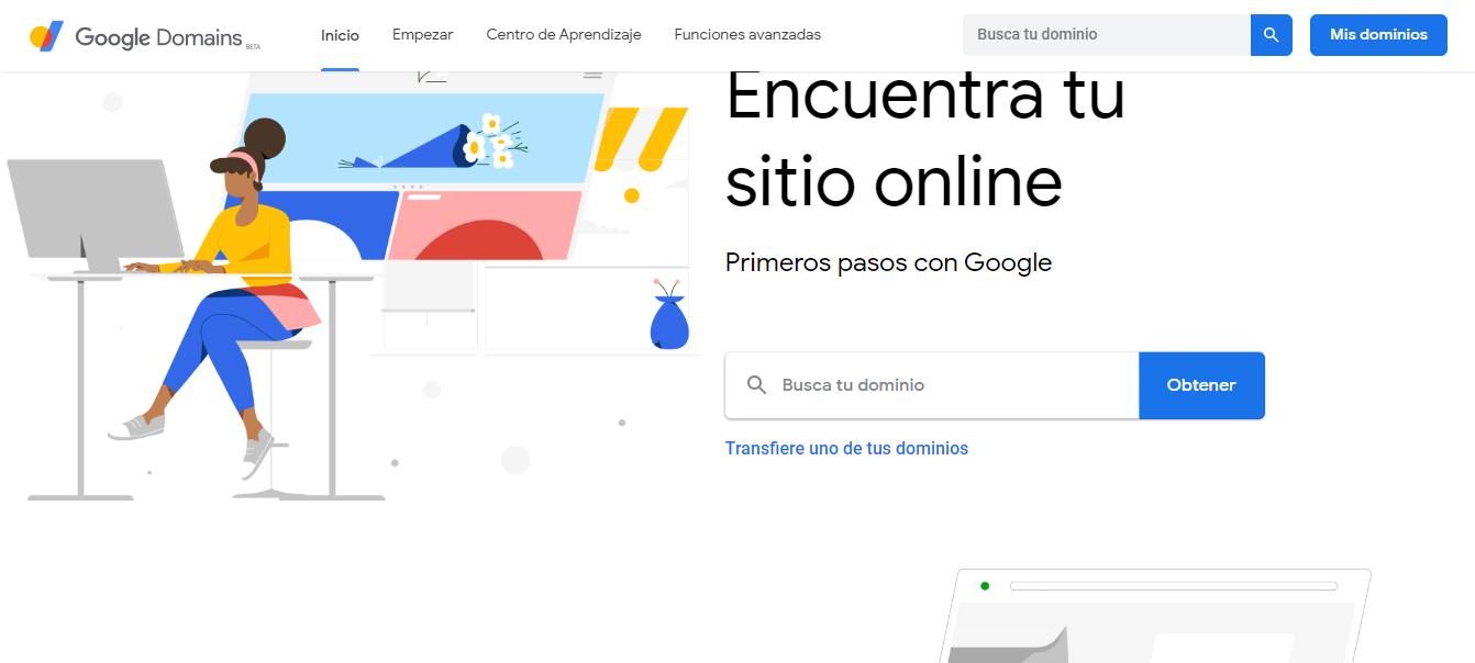 Dominios de Google, la mejor opción para comprar dominios