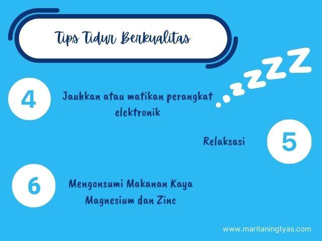 tips agar tidur berkualitas