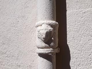 Bafomet en la Calle Bazán nº 61, Alicante.