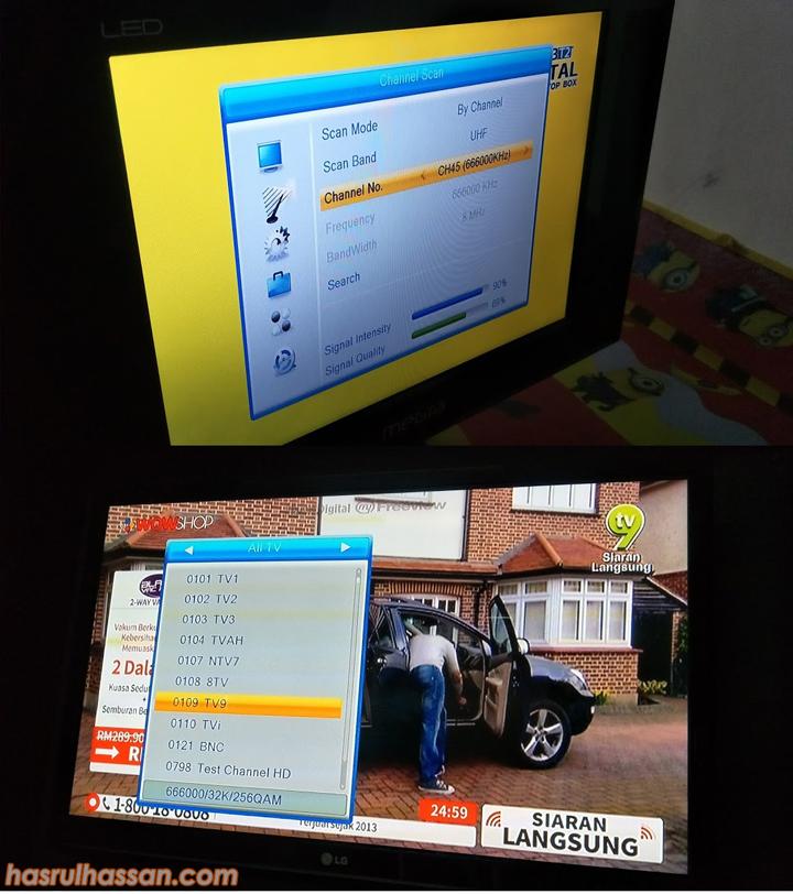 Servis Pemasangan Siaran TV Digital MyFreeview Terbaik