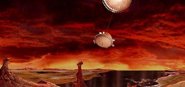 NASA CONSIDERA MISSÃO DE RETORNO DE AMOSTRA DE TITAN