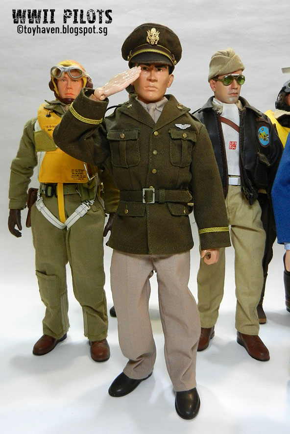 Toyhaven 1 6th Scale World War Ii Allied Forces Pilots