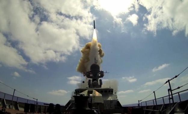 Με νέα φρεγάτα και πυραύλους Cruise ενισχύει η Μόσχα την Αρμάδα της στην Μεσόγειο