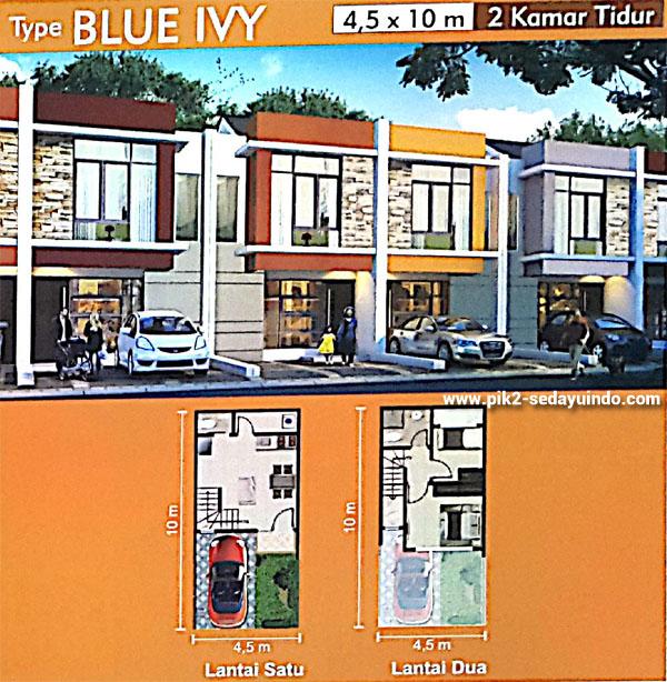 Tipe Blue Ivy Rumah PIK 2 Dijual Cluster Virginia
