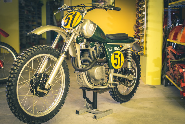 IDM Suzuki EF400BB Vintage Cross Bike