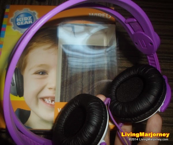 Kidz Gear Wired Headphones for kids