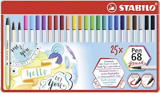 Stabilo pen 68 brush