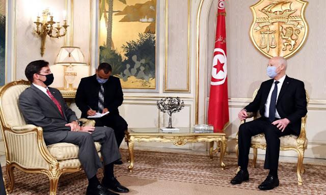 مارك إيسبر لـ قيس سعيد : مستعدون لدفع التعاون مع تونس في مختلف المجالات.. !