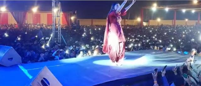 sapna choudhary dance 2020