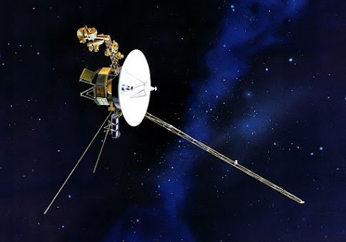 Space Travel: What did the spacecraft (Voyager 1 & Voyager 2) ,take out of the solar system?