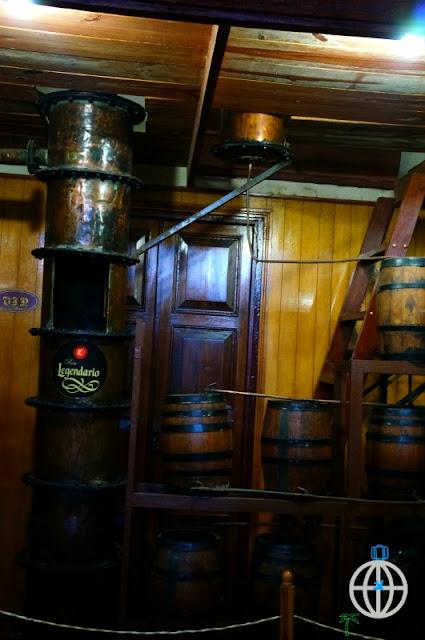rum legendario beczki kuba