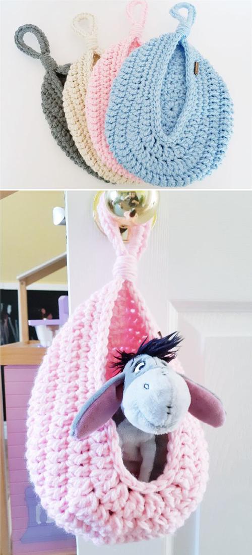 Cocoon Hanging Basket - Free Pattern