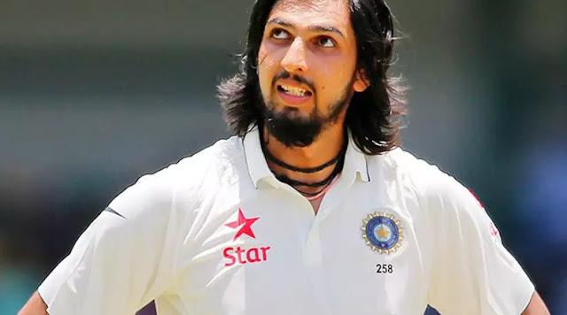 Ishant Sharma photos from the match
