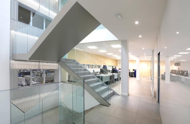 reforma interior oficina amutio y bernal arquitectos santander cantabria