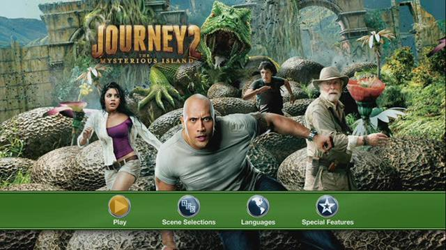 Journey 2 The Mysterious Island DVD Full Español Latino NTSC Descargar 2012