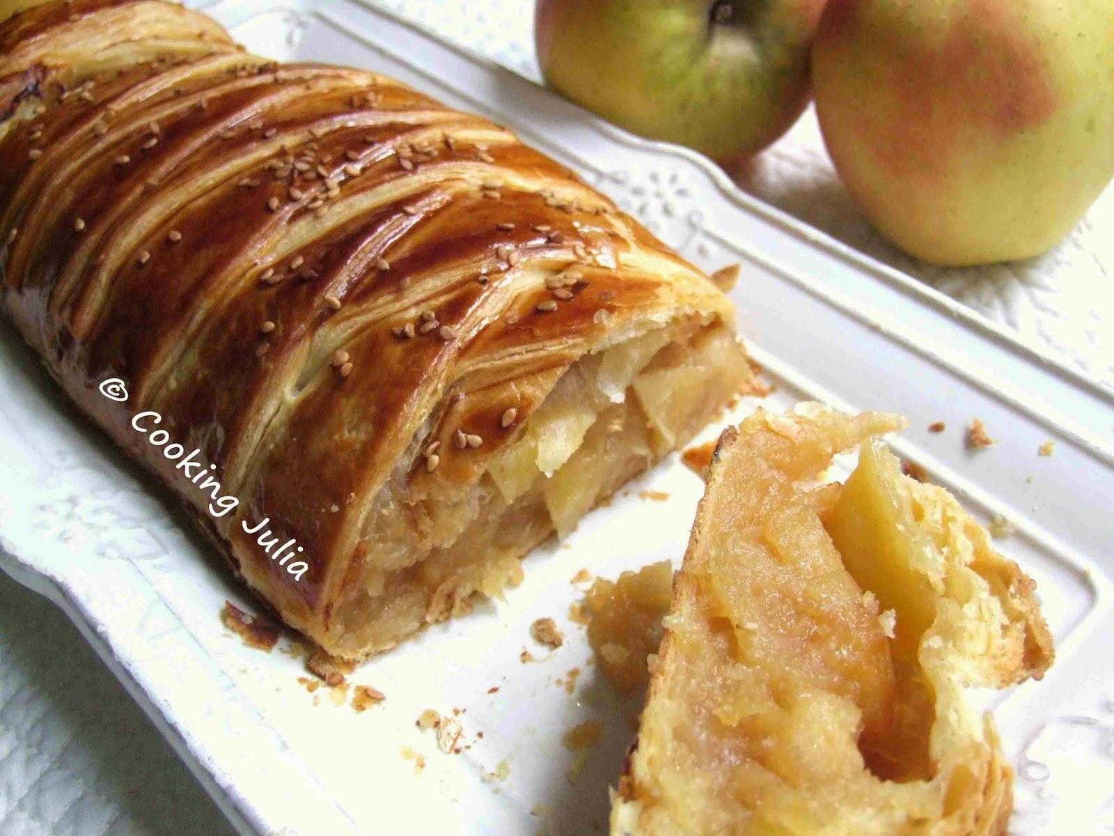 Cooking Julia Feuillete Tresse Aux Pommes