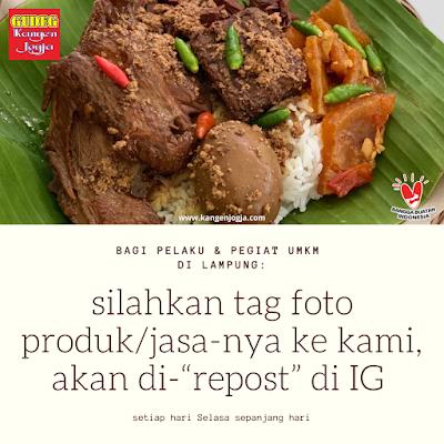 Dukungan Bagi UMKM Lampung