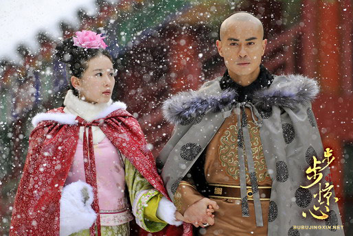 Liu Shi Shi and Kevin Cheng in c-drama Scarlet Heart aka Bu Bu Jing Xin