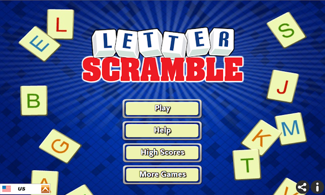 Word Game - Letter Scramble