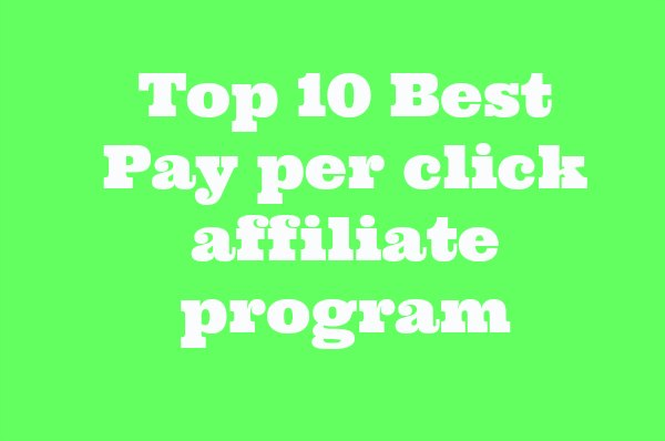 Here is the top 10 list of high paying ppc ad networks and affiliate program available in india