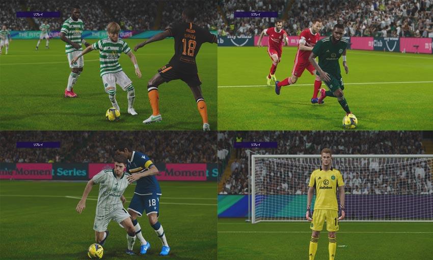 Celtic FC Season 2021-2022 Kits Pack For eFootball PES 2021