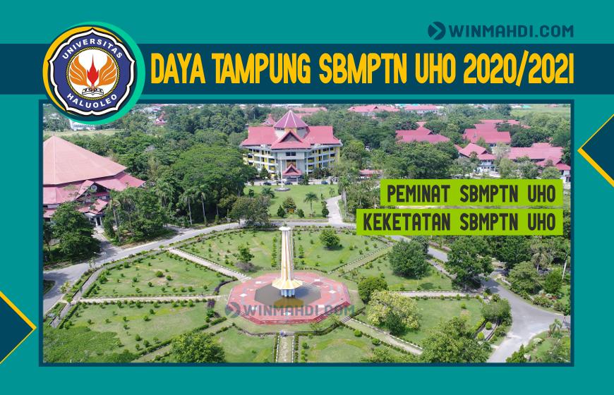 Daya Tampung SBMPTN UHO 2020-2021