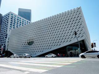 ザ・ブロード ロサンゼルスの美術館。