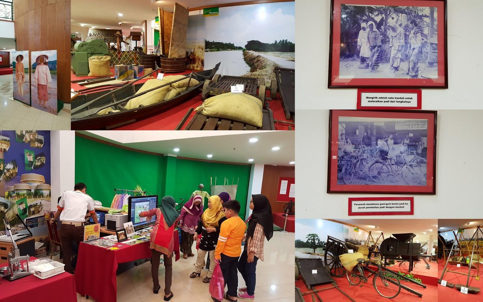 Bahan pameran Muzium Padi
