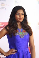 Eesha in Cute Blue Sleevelss Short Frock at Mirchi Music Awards South 2017 ~  Exclusive Celebrities Galleries 016.JPG