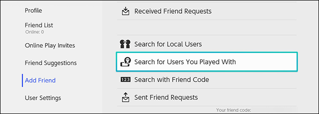 لعب تبديل نينتندو المستخدمين