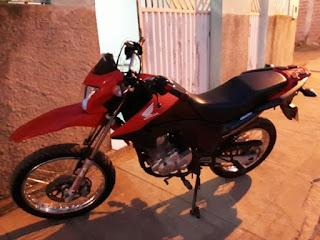 Moto é tomada em assalto na cidade de Nova Floresta