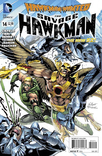 The Savage Hawkman #14 Cover