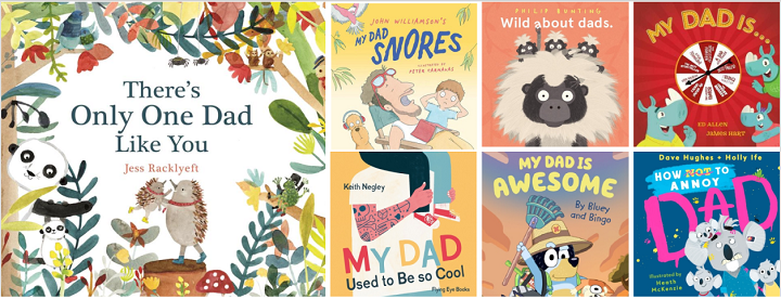 2020 Fathers Day picture book covers