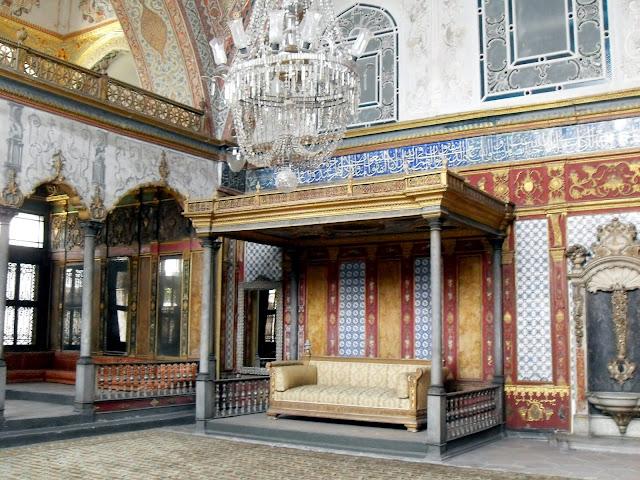 Salones del Harem del Palacio Topkapi