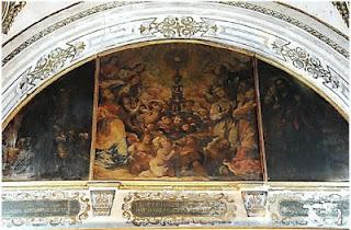 """Las Siete Palabras de Sevilla restaurará el cuadro de Herrera """"El Viejo"""" de 1641 """"La Adoración de la Eucaristía"""""""