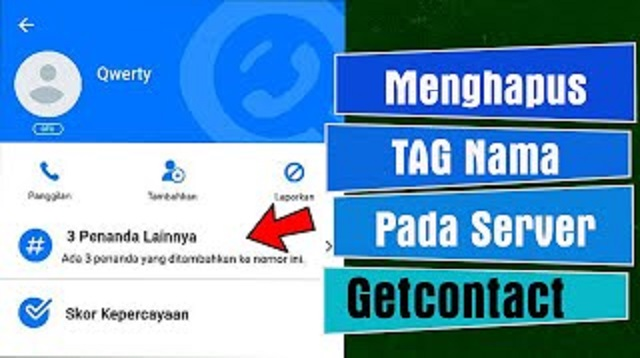 Cara Menghapus Tag GetContact