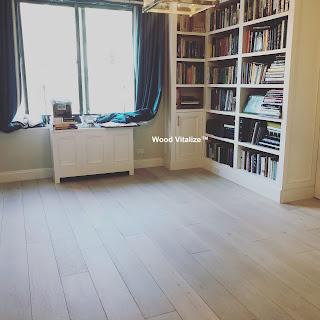 White Bleach Wood Floors Refinishing