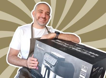 Pruebo el Smokeless Grill de MasterPro - Freidora de aire y Barbacoa