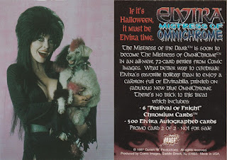 Elvira OmniChrome promo card #2