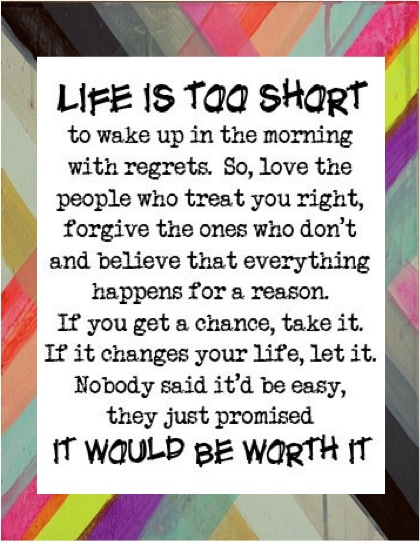 Lifeistooshort Life is too short...