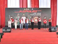 Panglima TNI Marsekal TNI Hadi Tjahjanto, S.I.P. Hadiri Pembukaan Kejuaraan Menembak Piala Kapolri Dalam Peringatan Hari Bhayangkara Ke-74
