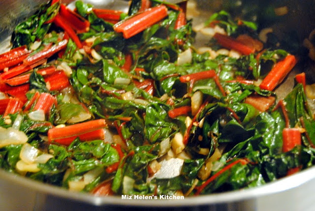 Citrus Herb Chicken With Swiss Chard at Miz Helen's Country Cottage