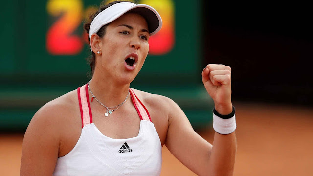 Garbine Muguruza espanha roma WTA PRemier vitória