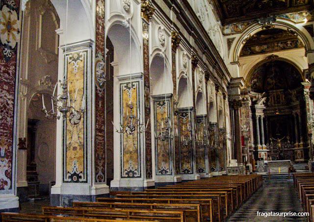 Igreja de São Francisco, Sorrento, Itália